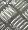 Лист алюминиевый рифленый квинтет 1мм
